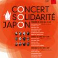Concerts solidarité Japon
